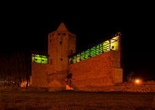 Rawa Mazowiecka城堡 免版税库存图片