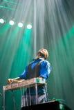 Rawa slösar festivalen 2014: Robert Randolph & familjmusikbandet Arkivbild