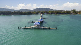 Rawai beach pier Phuket andaman sea southern of thailand importa Stock Photography