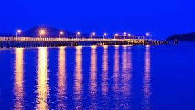 Rawai die Pier Phuket landen Stock Fotografie