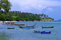 Rawai plaża przy Phuket, Tajlandia Zdjęcia Royalty Free