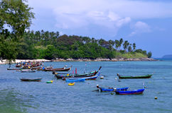 Rawai-Strand in Phuket, Thailand lizenzfreie stockfotos