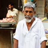 De Bazaar van de radja in Rawalpindi, Pakistan Stock Afbeeldingen