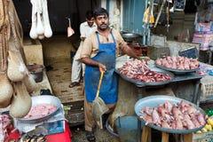 Bazar del Raja en Rawalpindi, Paquistán Imagen de archivo
