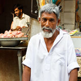Bazar del Raja en Rawalpindi, Paquistán Imagenes de archivo