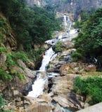 Rawana waterfall near Ella Gap Royalty Free Stock Photo