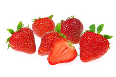 Rawberry isolated Stock Images