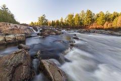 Rawdon Falls-QC stock afbeelding