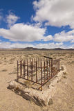 Rawhide Ghost Town Grave Site Royalty Free Stock Photo