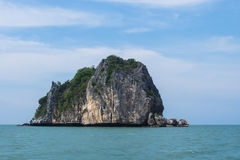 Rawing海岛在泰国的国家公园 免版税图库摄影