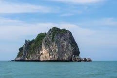 Rawing ö i nationalpark av Thailand Royaltyfri Fotografi