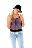 Rawk ON Party Girl 2 Royalty Free Stock Image