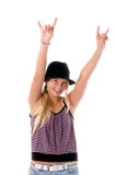 Rawk ON Party Girl 3 Royalty Free Stock Photo