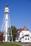 Rawley Point Lighthouse Royalty Free Stock Photo