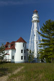 Rawley Point Lighthouse royalty free stock image