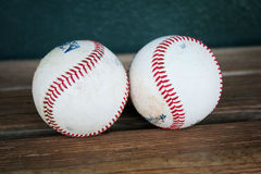 Rawlings Baseballs Royalty-vrije Stock Foto's