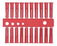 Rawlplugs isolados ilustração do vetor