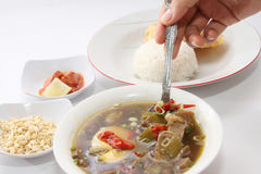 Rawon Royalty Free Stock Photo
