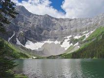 Rawson湖,卡纳纳斯基斯国家,加拿大 库存照片