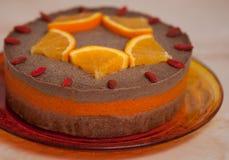 Rawvegan dessert royalty free stock image