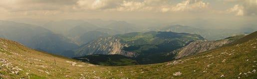 Rax-Schneeberg mountain range Stock Photography