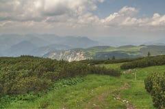 Rax-Schneeberg mountain range Royalty Free Stock Photo