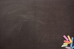 Rayé épuisé le panneau d'école Image libre de droits