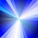 Ray Abstract Background ligero azul Stock de ilustración