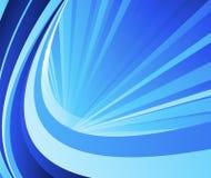 Ray abstrcat blue card Stock Photography