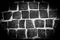 Ray av ljus på en stenvägg, monokrom backgroun fotografering för bildbyråer