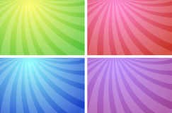 Ray Backgrounds Royalty Free Stock Images