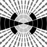 Ray black and white transmission tower or spotter symbol Stock Images