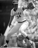 Ray Burris, Chicago Cubs photo stock