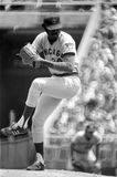 Ray Burris. Chicago Cubs star pitcher Ray Burris. (Image taken from b&w negative stock photos