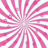 Ray bursts and stars. For design Royalty Free Stock Images