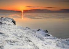 Ray de chaleur en hiver photos libres de droits