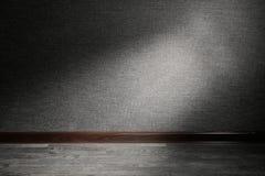 Ray de la luz en piso Foto de archivo
