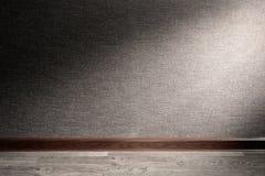 Ray de la luz en piso Imagen de archivo