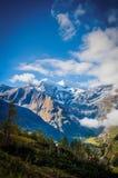 Ray de la montagne Photographie stock
