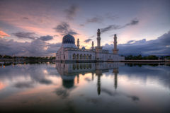 Ray de luz da mesquita Imagens de Stock Royalty Free
