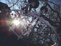 Ray del sol imágenes de archivo libres de regalías