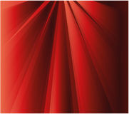 Ray effect Red background. Abstract royalty free illustration