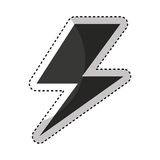 ray energy symbol icon Stock Images
