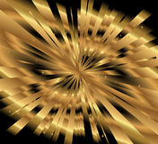 Ray gold background vector Stock Images