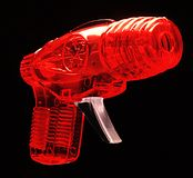 Ray gun 1 Royalty Free Stock Photos