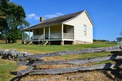 Ray House på Pea Ridge National Military Park Arkivbilder
