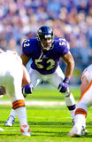 Ray Lewis Baltimore Ravens foto de stock royalty free