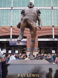 Ray Lewis Statue Stock Image