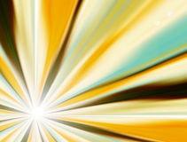 Ray of light. With different color. abstract Royalty Free Stock Photos