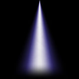 Ray of light from above Royalty Free Stock Photo